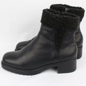 AJ Valencie Square Toe Ankle Booties Never Worn